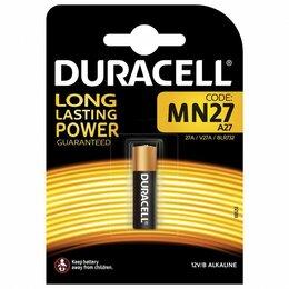 Батарейки - Батарейки Duracell MN27 1шт, 0