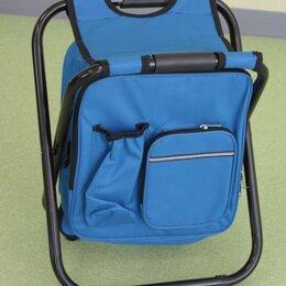 Походная мебель - Стул-рюкзак (термосумка) 28*36*42см до 120кг (сталь d=18мм) Eurica, 0