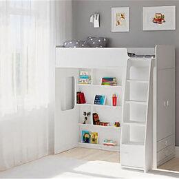 Кроватки - Кровать-чердак ЛегкоМаркет Легенда F603.1 Белая, 0