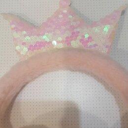 Головные уборы - Наушники розовые пушистые , 0