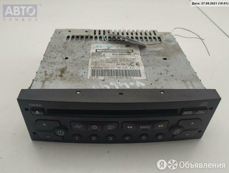 Аудиомагнитола Peugeot Partner 1.6л Дизель TD 96635824XT по цене 1900₽ - Автоэлектроника и комплектующие, фото 0