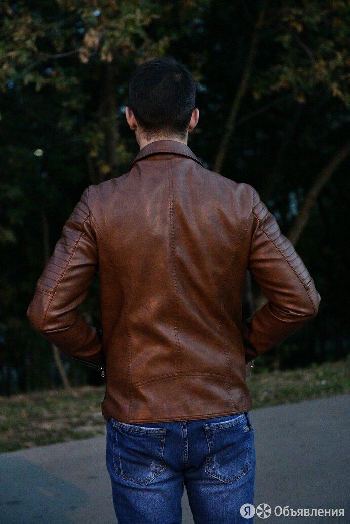 Куртка мужская кожаная по цене 6000₽ - Костюмы, фото 0