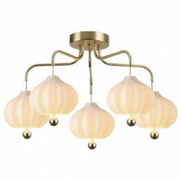 Люстры и потолочные светильники - Потолочная люстра Lumion Juliet 4459/5C, 0