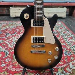 Электрогитары и бас-гитары - Электрогитара Gibson Les Paul Tribute HH Vintage Sunburst Gigbag USA 2016, 0