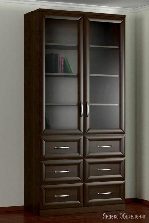 Шкаф книжный БИБЛИОГРАФ по цене 13530₽ - Шкафы, стенки, гарнитуры, фото 0