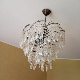 Люстры и потолочные светильники - Люстра потолочная demarkt «бриз», 6хe14х60 вт, цвет никель, 0