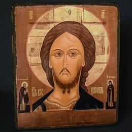 Иконы - Икона ручной работы Господь вседержитель икона, 0