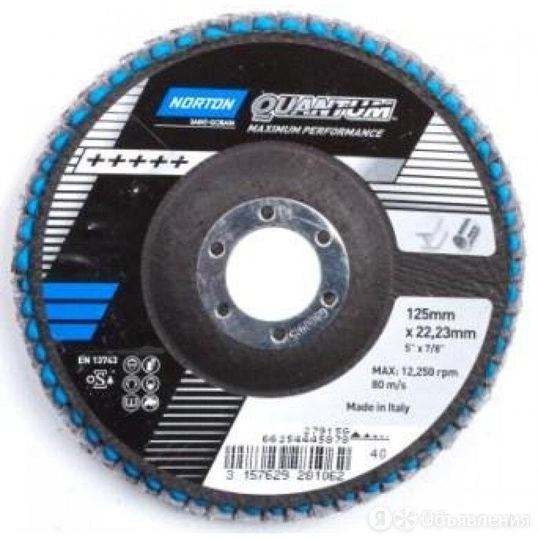 Лепестковый диск NORTON Quantum по цене 424₽ - Для шлифовальных машин, фото 0