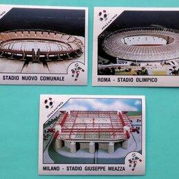Другое - Наклейки Panini Чемпионат Мира 1990 Стадионы Футбо, 0