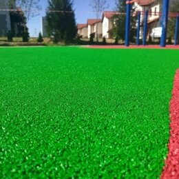 Садовые дорожки и покрытия - Зеленое резиновое покрытие , 0