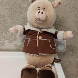 Мягкие игрушки - Мягкая игрушка свинья 🐷, 0