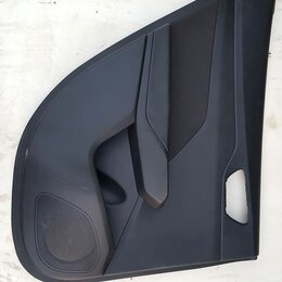 Интерьер  -  Обшивка задней левой двери Hyundai Solaris, 0