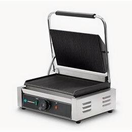 Электрические грили и шашлычницы - Гриль контактный Hurakan HKN-PE34R, 0