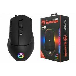 Мыши - Мышь игровая проводная MARVO M428BK,  7 кн, 800-2400dpi, USB,  чёрный 20044185, 0