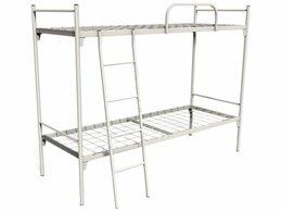 Кровати - Кровать двухъярусная металлическая, 0