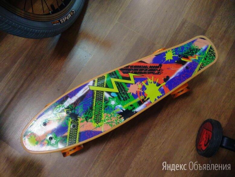 Пенниборд пластиковый с принтом по цене 1890₽ - Скейтборды и лонгборды, фото 0