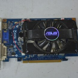 Видеокарты - Видеокарта ASUS GeForce GT 220 625Mhz PCI-E 2.0 512Mb 800Mhz 128 bit DVI HDMI HD, 0