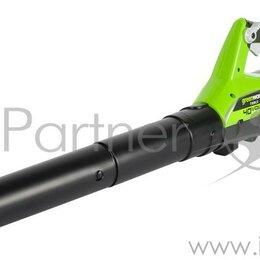 Воздуходувки и садовые пылесосы - Воздуходувка аккум. Greenworks 2400807  40В (БЕЗ АККУМ и ЗУ), 0