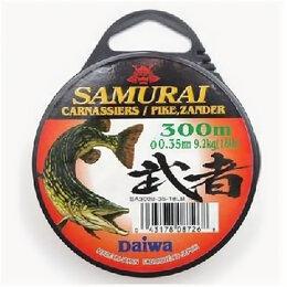 Леска и шнуры - Леска Daiwa Samurai Pike 450м 0,30мм (7,2кг) светл, 0