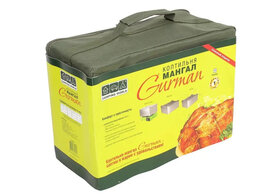 Грили, мангалы, коптильни - Коптильня-мангал Camping World Gurman S, 0