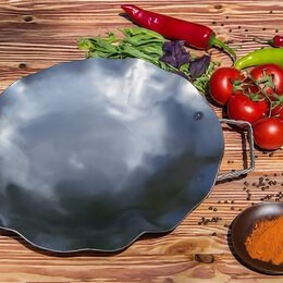 Сковороды и сотейники - Садж из воронённой стали, 0