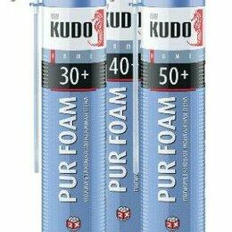 Изоляционные материалы - Монтажная пена бытовая KUDO Home 50+ всесезонная 1000мл., 0