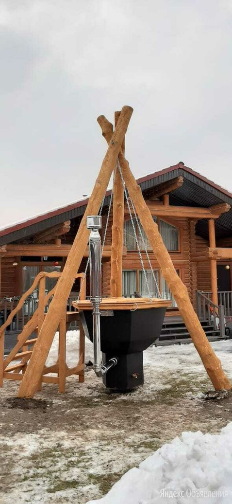 Сибирский банный чан на 2-4 человека по цене 389900₽ - Бочки и купели, фото 0