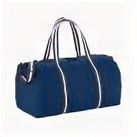 Дорожные и спортивные сумки - Хлопковая дорожная сумка Weekender, темно-синий, 0