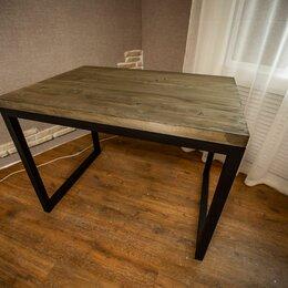 Столы и столики - Стол с толстой столешницей, 0