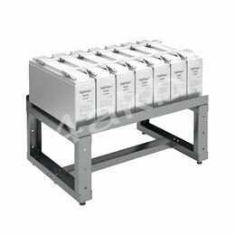Источники бесперебойного питания, сетевые фильтры - Однорядный аккумуляторный стеллаж серии КРОН-АКС-1, 0