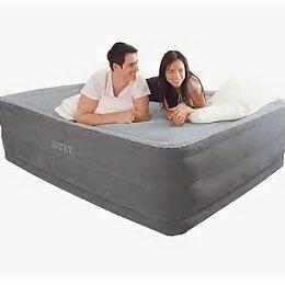 Надувная мебель -  Надувной Матрас Надувная кровать 203*152*256 Встроенный насос , 0