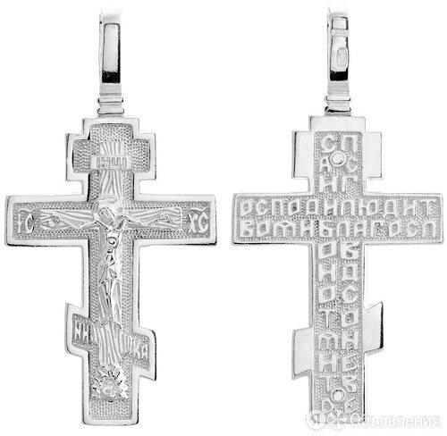 Крест нательный мужской православный 44004 по цене 1050₽ - Кулоны и подвески, фото 0