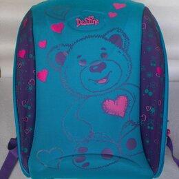 Рюкзаки, ранцы, сумки - Школьный рюкзак (ранец) для девочки, 0