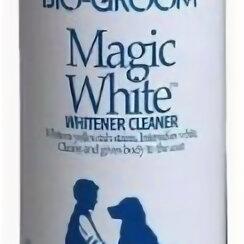 Кремы и лосьоны - BIO-GROOM MAGIC WHITE белый выставочный спрей-мелок 284 мл , 0