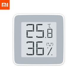 Системы Умный дом - Цифровая метеостанция Xiaomi MiaoMiaoce Smart Hygrometer E-Ink Screen, 0