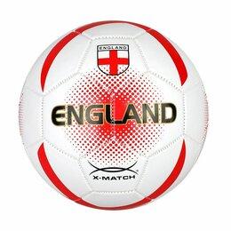 Мячи - Мяч футбольный X-Match, 1 слой PVC, Англия, 0