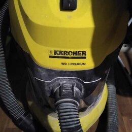 Профессиональные пылесосы - Профессиональный пылесос karcher wd 3 p 1000 вт, 0