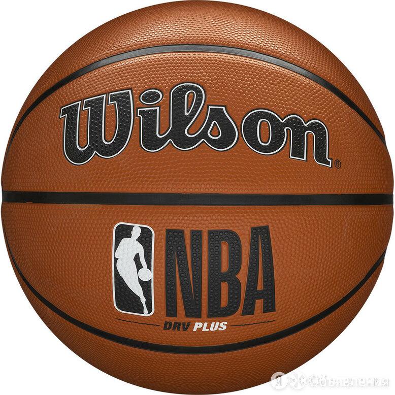 WILSON Мяч баск. WILSON NBA DRV Plus, арт.WTB9200XB06 р.6, резина, бутил. кам... по цене 1720₽ - Мячи, фото 0