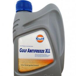 Химические средства - Антифриз концентрированный красный GULF Antifreeze XLL (1л)***, 0