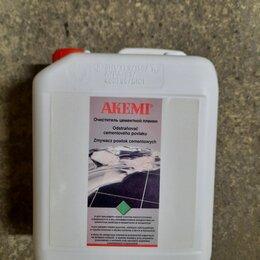 Строительные очистители - Очиститель цементной пленки  по натуральному и искусственному камню Aкеми 5л., 0