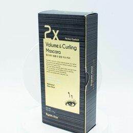 Аксессуары - Объемная и подкручивающая тушь для ресниц FarmStay Volume & Curling Mascara, 0