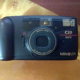 Пленочные фотоаппараты - Пленочный фотоаппарат Minolta С20, 0