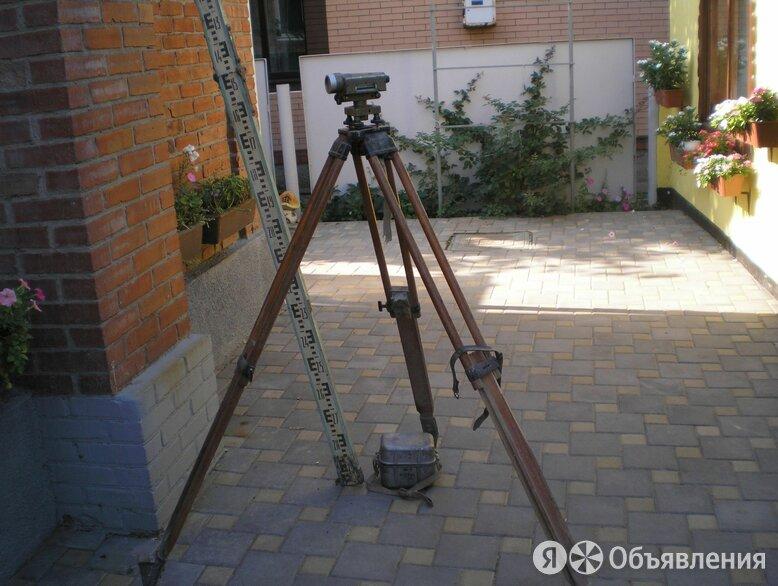 нивелир Н-3 с треногой и рейкой по цене 2000₽ - Измерительные инструменты и приборы, фото 0