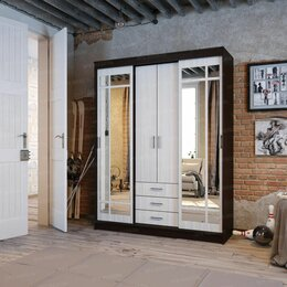 Шкафы, стенки, гарнитуры - Шкаф-купе Лорд, 0