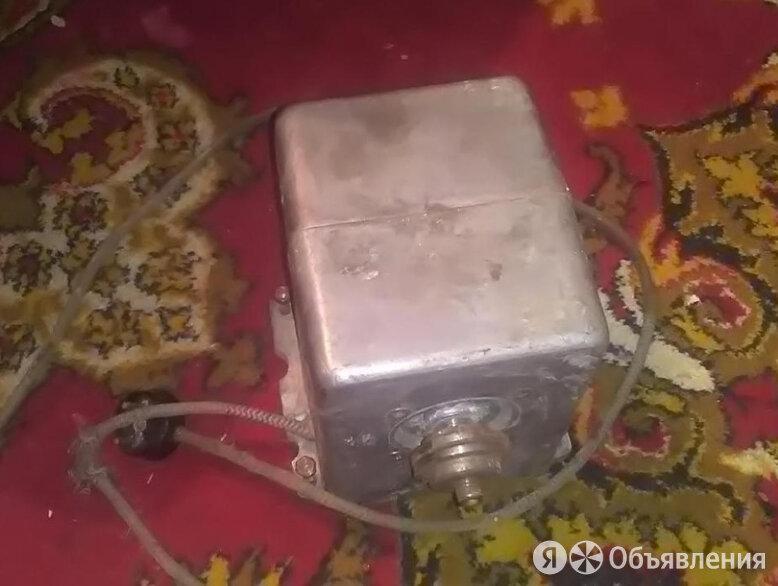 Электродвигатель 1977 г. времён СССР рабочий по цене 2000₽ - Электроустановочные изделия, фото 0