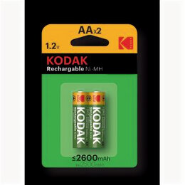 Батарейки - Элемент питания  Kodak HR6-2BL 2600mAh[KAAHR-2/2600mAh](40/320/12800) *** ТМ, 0