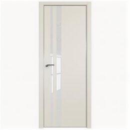 Межкомнатные двери - Межкомнатные двери Profil Doors 16E Магнолия Сатинат Стекло Лак классик Кромк..., 0