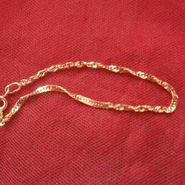 Браслеты - Золотой браслет 585 , длина 16. 5 см , 0