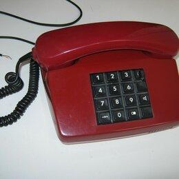 Проводные телефоны - Кнопочный телефон стационарный, 0