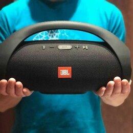 Портативная акустика - Колонка Boombox 33см черная, 0